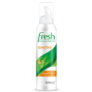 Camillen Fresh, Skum Balsam, Sensitiv, 5% Urea
