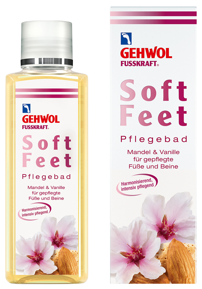 GEHWOL, Soft Feet, Fodbad, 200 ml